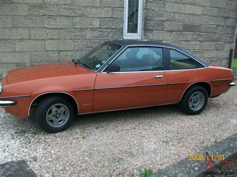 1980 Opel Manta Sr Berlinetta 2 0 Not Ford