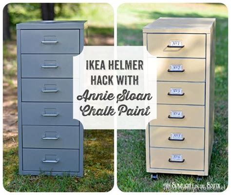 Ikea File Cabinet Hack Ikea Hack Helmer Drawer Set Ikea Hacks Vintage File Cabinet And Coffee Table Storage
