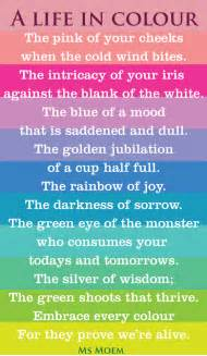 for colored poems in colour ms moem poems etc