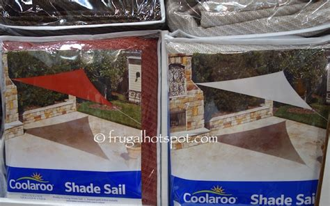 Costco Patio Shades by Costco Sale Coolaroo Shade Sail 13 Triangle 16 79
