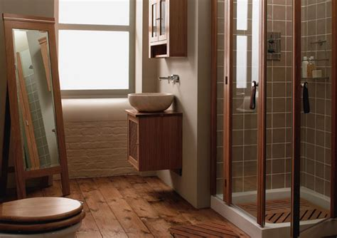 hardwood floor bathroom wood in your bathroom why not