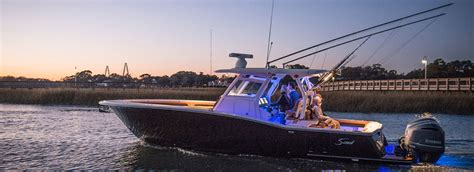scout offshore boats scout 350 lxf luxury offshore center console boat