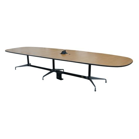 Herman Miller Conference Table 1 15 Ft Herman Miller Eames Oak Conference Table Ebay