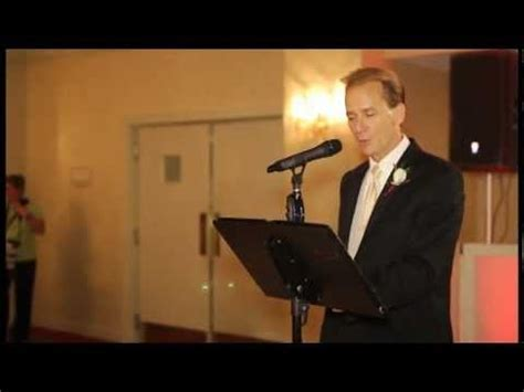 The Best Father of the Bride Speech EVER!   YouTube
