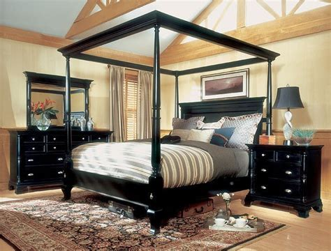 four post king size bedroom sets magnussen hastings king size four poster canopy bed set