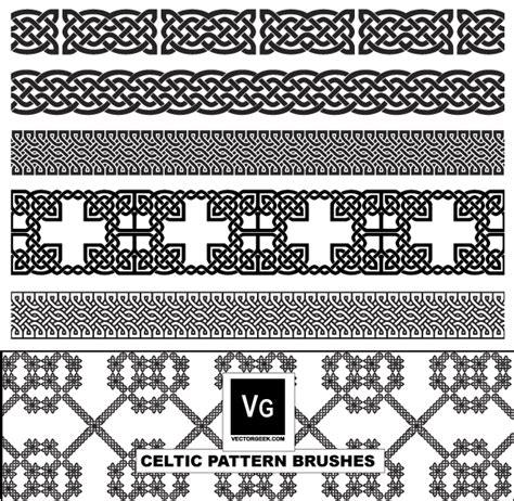 pattern illustrator cs4 celtic pattern illustrator brushes vector free