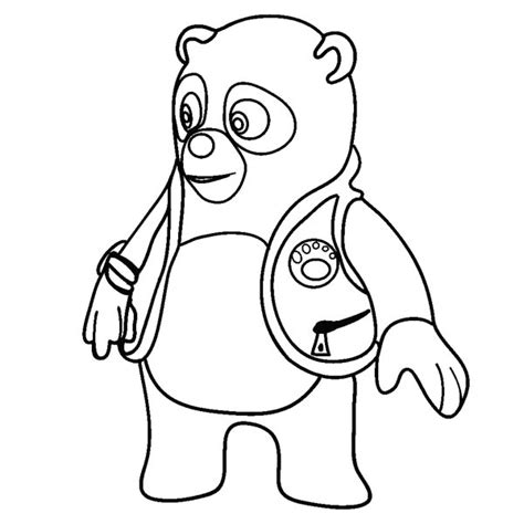 amazing special agent oso coloring page download print