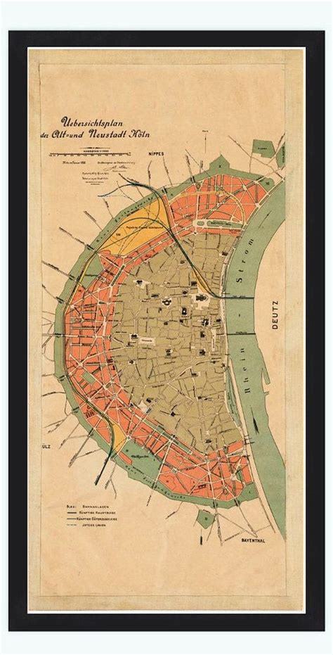 map of koln germany 14 best images about cologne maps on 16th