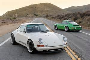 Singer Porsche 911 For Sale Singer 911 In White Photo Gallery Autoblog