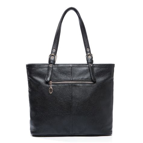 Handbag Tote Bag Black black handbag black leather tote handbag