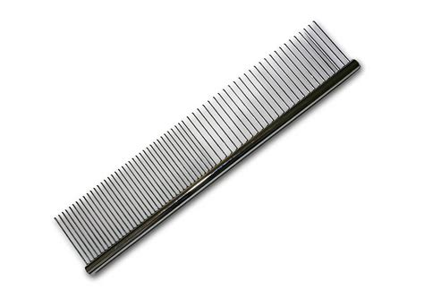 yorkie comb 7 quot metal combination grooming comb