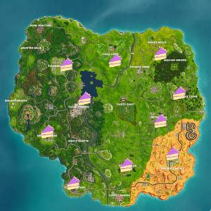 fortnite birthday cake locations  tips  find