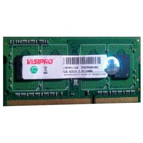 Ram Visipro Ddr3 Lv Jual Visipro Ram Laptop Low Voltage 4gb Ddr3 Pc12800 1600mhz Memory Sodim Jykomputer