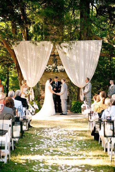 10 stunning ceremony backdrops bridalguide