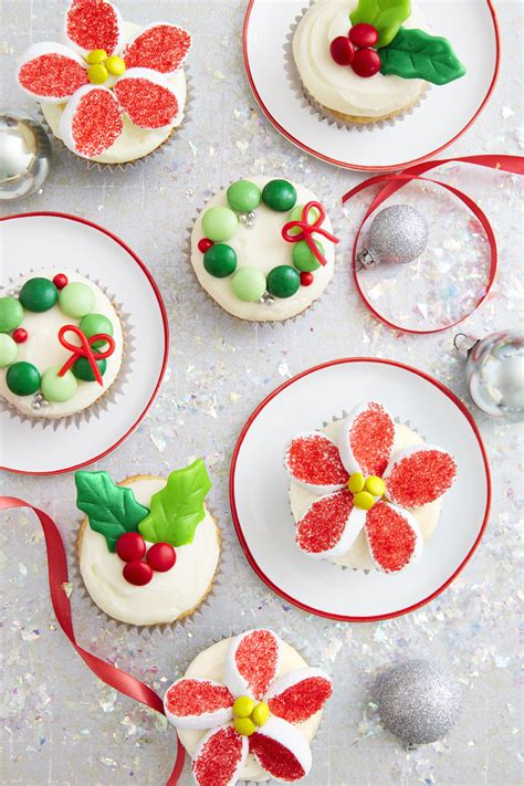 holiday candy cupcakes recipe    christmas