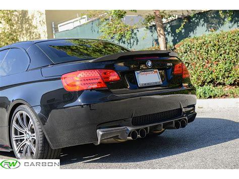 bmw 335i spoiler bmw e93 performance style carbon fiber trunk spoiler 328i