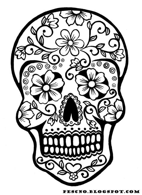 halloween coloring pages day of the dead 9 fun free printable halloween coloring pages halloween