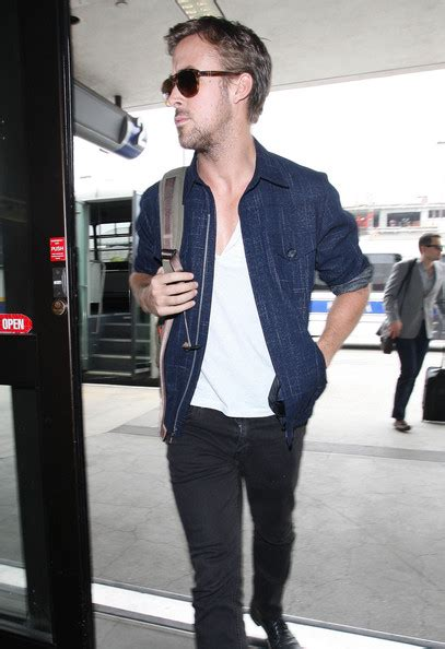 more pics of ryan gosling denim jacket 16 of 17