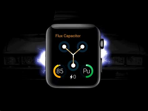 flux capacitor gif back to the future apple app concept by pumika dribbble
