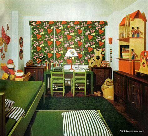 1960s decor playroom workroom bedroom 1965 click americana