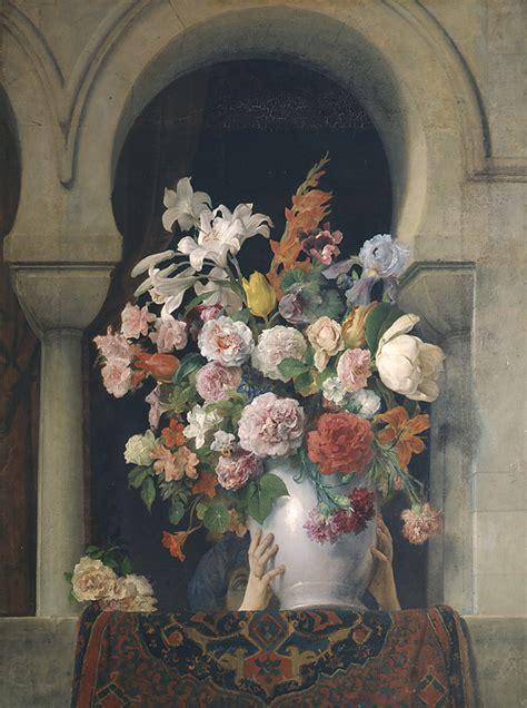 vaso di fiori a vase of flowers on the window of a harem pinacoteca di