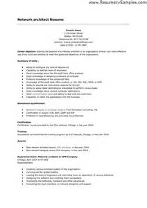 effective and simple architect resume templates vntask
