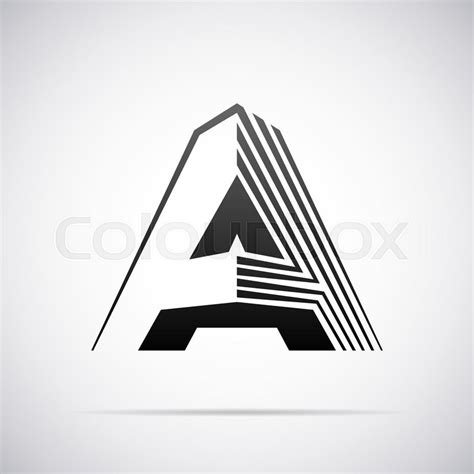 Design A Template logo for letter a design template vector illustration