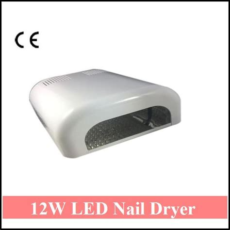 What Watt Led L For Gel Nails by 12w Led Nail Dryer Lightweight Portable