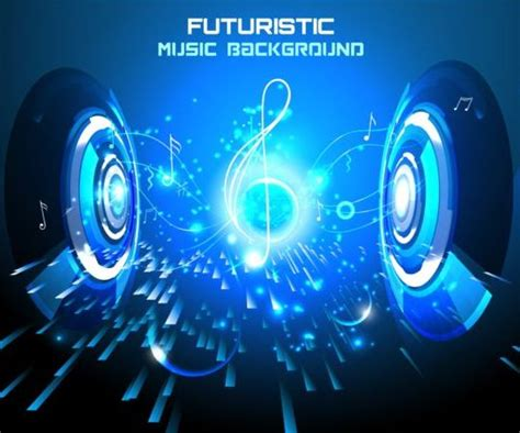 design background music futuristic music background design vector 06 vector