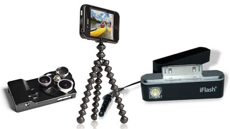 iphone camera accessories  iphone lenses flashes