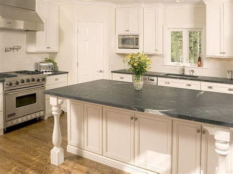 Cost Of Kitchen Countertops Kitchen How Much Soapstone Countertops Cost Actually Kitchen Countertop Overhang White