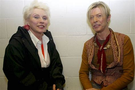 Debbie Harry asks 'Who doesn't love David Bowie?' in