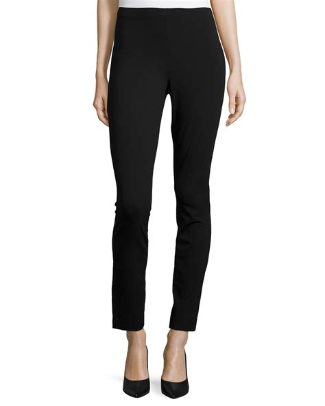 New Cropped For by Donna Karan New York High Waist Cropped In Black Lyst