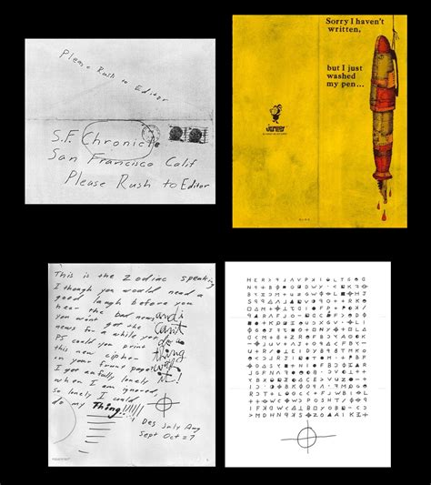 Zodiac Service Letter picture suggestion for zodiac killer letters timeline
