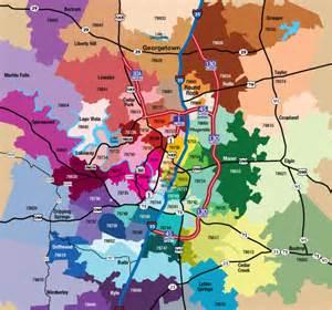 Austin texas area zip code map lux port group real estate zip codes