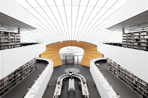 designboom norman foster philologische bibliothek by norman foster leaves its mark