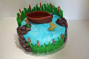 Fishing cake cake ideas and designs