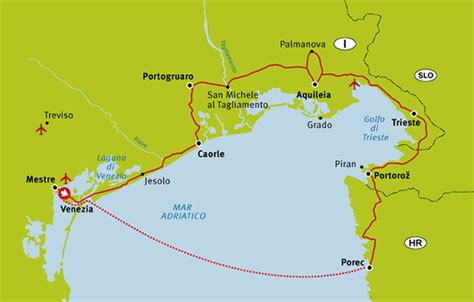boat trip venice to croatia the vacation station 187 venice to porec three country tour
