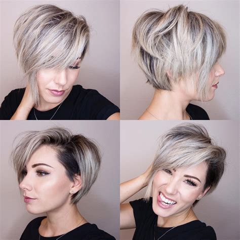 short bob hairstyles 360 degrees 360 pixie cut 360 short hair bob haircut chloenbrown