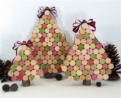 wine cork christmas tree ecobnb