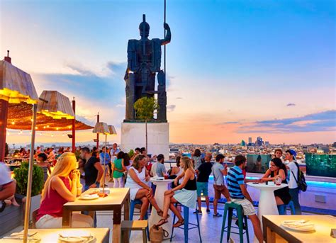 top bars in madrid top 10 rooftop bars in madrid dk eyewitness travel