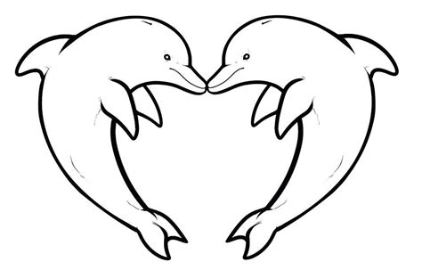 picture to color picture of dolphin to color 13844