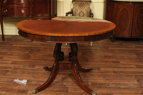 Antique Dining Room Table by Round Mahogany Dining Table 44 Quot Reproduction Antique