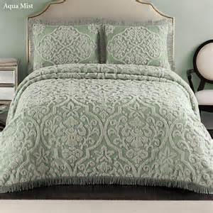 bed spreads layla tufted brocade chenille bedspread bedding
