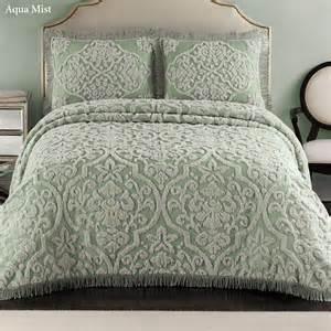layla tufted brocade chenille bedspread bedding