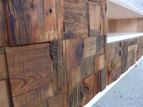 meuble tv en vieux bois au design vintage