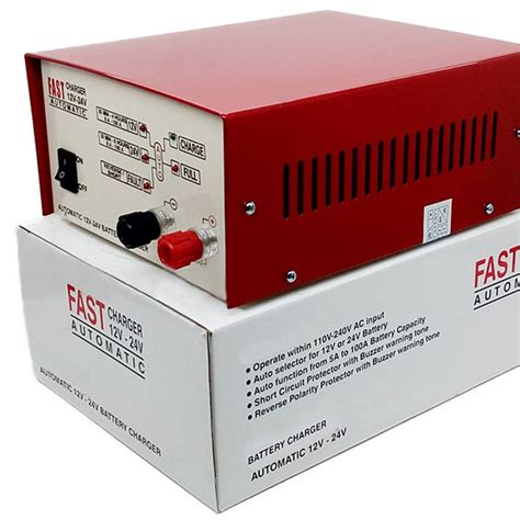Smart Fast Battery Charger Aki Otomatis Suoer Dc 12v 50a Ma 1250a mainan motor charger dhian toys
