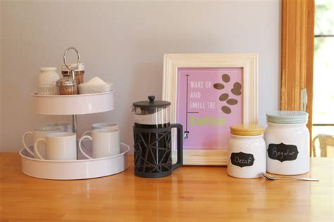 Adorable & Stylish At Home Coffee Stations