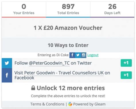 How To Enter Gleam Giveaways - how to enter gleam giveaways superlucky