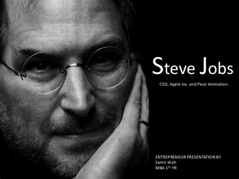 biography of steve jobs powerpoint stevejobs